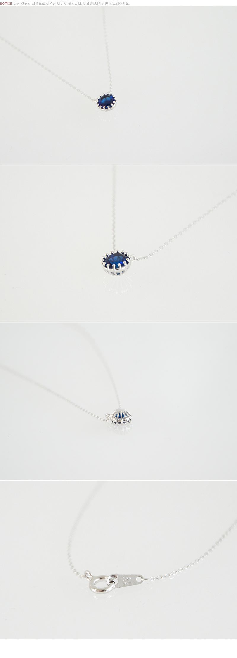실버925 8월 탄생석 큐빅 목걸이(케이스포함) - 쿠키세븐, 18,240원, 패션, 패션목걸이