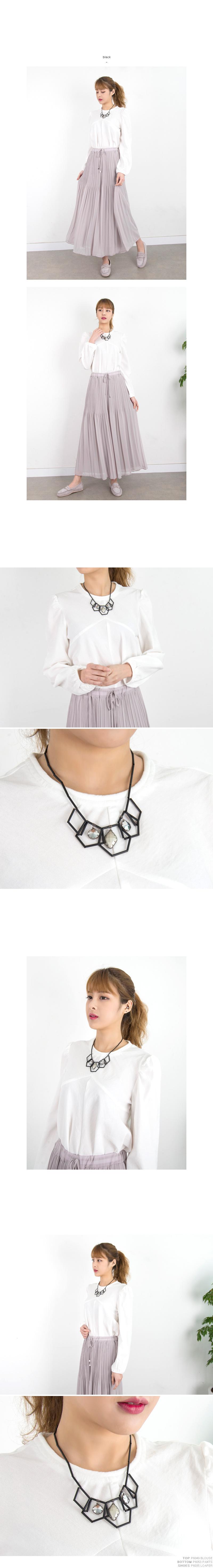 P6023 유니크 스트롱 큐빅 목걸이(케이스포함) - 쿠키세븐, 35,040원, 패션, 패션목걸이