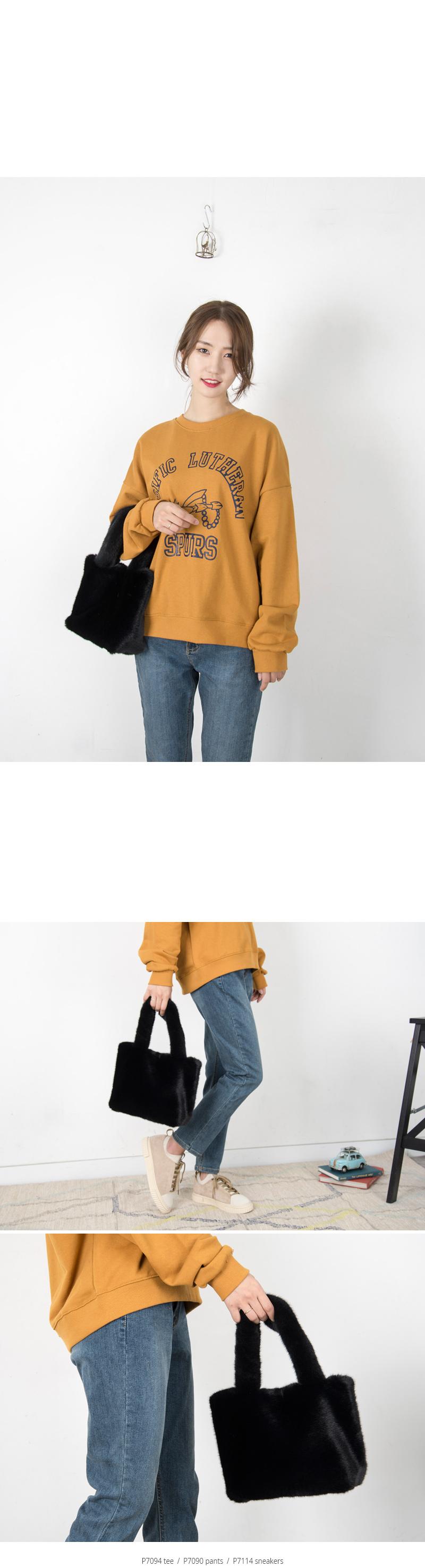 보송퍼 컬러 토트백(7color) - 쿠키세븐, 27,840원, 토트백, 인조가죽토트백