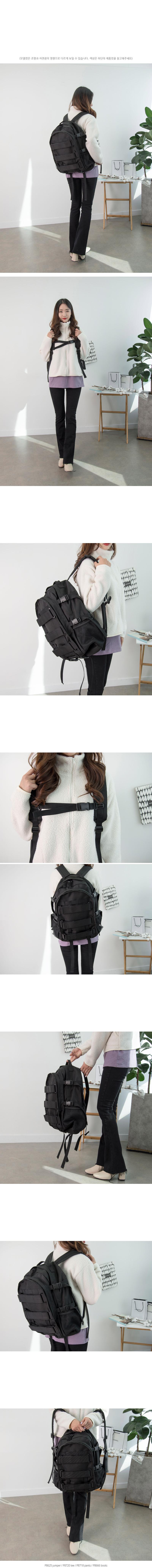 P8722 블랙 매쉬 트레블 백팩 - 제이앤씨, 49,440원, 백팩, 패브릭백팩